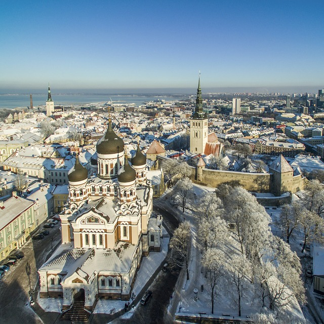 Photo of the city Tallinn